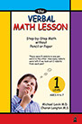 Mental math lesson book